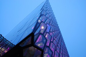 Detail Harpa Building